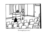 """He brought joy to tens."" - New Yorker Cartoon Premium Giclee Print by Bruce Eric Kaplan"