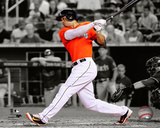 Giancarlo Stanton 2014 Spotlight Action Photo