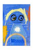 Woman Giclée-tryk af Poul Pava