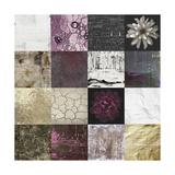 Tiles Decor Purple Notes Prints