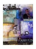 Maskulin Posters by Annemette Hylleborg