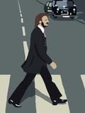 Ringo Lámina giclée por Nanna Lund Nielsen