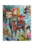 Blaise's World Giclee Print by Coco Electra