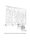 """Most opera plots could be averted by some decent therapy."" - New Yorker Cartoon Premium Giclee Print by Victoria Roberts"