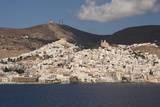 Ermoupolis, Capital of Cyclades Islands, Syros, Greek Islands, Greece, Europe Photographic Print by Rolf Richardson