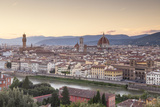 Basilica Di Santa Maria Del Fiore (Duomo) and Skyline of the City of Florencetuscany, Italy, Europe Fotografisk trykk av Julian Elliott