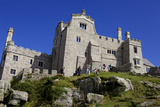 Castle House on St. Michael's Mount, Marazion, Cornwall, England, United Kingdom, Europe Photographic Print by Simon Montgomery