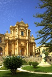 The Church of San Domenico, Noto, Sicily, Italy, Europe Photographic Print by Neil Farrin