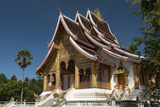 Haw Pha Bang Pavilion at Royal Palace, Luang Prabang, Laos, Indochina, Southeast Asia, Asia Photographic Print by Richard Nebesky