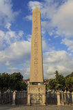 Egyptian Obelisk with Hieroglyphics and Base Frieze Photographic Print by Eleanor Scriven