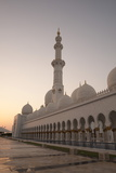 Sheikh Zayed Grand Mosque, Abu Dhabi, United Arab Emirates, Middle East Photographic Print by Sergio Pitamitz