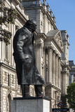 Statue of Sir Winston Churchill Photographic Print by James Emmerson