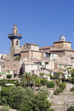 Valldemossa (Valldemosa) with Parish Church Sant Bartomeu Photographic Print by Markus Lange