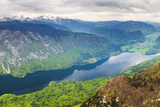 Lake Bohinj (Bohinjsko Jezero) Seen from Vogel Ski Resort Photographic Print by Matthew Williams-Ellis