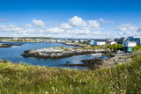 View over Port Aux Basques, Newfoundland, Canada, North America Photographic Print by Michael Runkel
