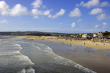 Marazion Beach, Cornwall, England, United Kingdom, Europe Photographic Print by Simon Montgomery