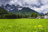 House Below the Juilan Alps Just Outside Kranjska Gora Photographic Print by Matthew Williams-Ellis
