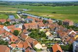 View over Ribe, Denmark's Oldest Surviving City, Jutland, Denmark, Scandinavia, Europe Photographic Print by Michael Runkel