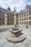 Inner Yard in Kronborg Renaissance Castlehelsingor, Denmark, Scandinavia, Europe Photographic Print by Michael Runkel