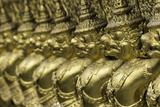 Detail of the Temple of the Emerald Buddha (Wat Phra Kaew) Photographic Print by John Woodworth