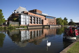 The Swan Theatre and Royal Shakespeare Theatre on River Avon Photographic Print by Stuart Black