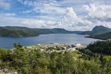 Overlook over Bonne Bay on the East Arm of the UNESCO World Heritage Sight Photographic Print by Michael Runkel