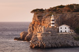 Lighthouse Far De Sa Creu at Sunset Photographic Print by Markus Lange
