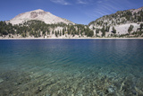 Hellen Lake with Mount Lassen Photographic Print by Richard Maschmeyer
