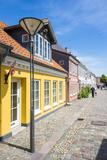 Old Precinct of Odense, Funen, Denmark, Scandinavia, Europe Photographic Print by Michael Runkel