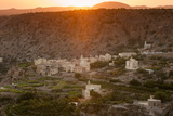 Al Sherageh Village, Green Mountains, Oman, Middle East Photographic Print by Sergio Pitamitz