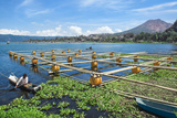 Lake Batur, Fishermen, Bali, Indonesia, Southeast Asia, Asia Photographic Print by G &
