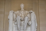 Interior View of the Lincoln Statue in the Lincoln Memorial Photographic Print by Michael Nolan