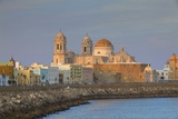 Church of Santa Cruz and Cathedral, Cadiz, Cadiz Province, Andalucia, Spain, Europe Photographic Print by Neil Farrin