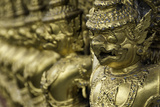 Detail at the Temple of the Emerald Buddha (Wat Phra Kaew) Photographic Print by John Woodworth