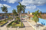 Plaza Mayor, Trinidadsancti Spiritus Province, Cuba, West Indies, Caribbean Photographic Print by Jane Sweeney