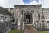 Brimstone Hill Fortress Entrance to Courtyardst. Kitts, St. Kitts and Nevis, West Indies, Caribbean Photographic Print by Eleanor Scriven