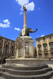 Elephant Fountain, Catania, Sicily, Italy, Europe Photographic Print by Neil Farrin