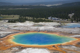 Grand Prismatic Spring Photographic Print by Richard Maschmeyer