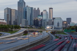 Interstate I-85 Leading into Downtown Atlanta, Georgia, United States of America, North America Photographic Print by Gavin Hellier