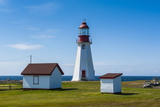 Pointe Riche Lighthouse, Port Au Choix, Newfoundland, Canada, North America Photographic Print by Michael Runkel