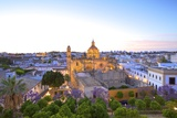 The Cathedral of San Salvador at Dusk Photographic Print by Neil Farrin