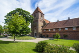 St. Catharina's Abbey in Ribe Photographic Print by Michael Runkel