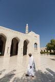 Sultan Qaboos Grand Mosque in Muscat, Oman, Middle East Photographic Print by Sergio Pitamitz
