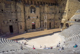 Amphitheatre, Orange, Provence Alpes-Cote D'Azur, France, Europe Photographic Print by Peter Groenendijk