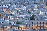 Modica at Dusk, Sicily, Italy, Europe Photographic Print by Neil Farrin