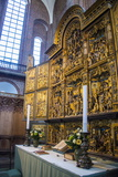 Golden Altar in the Cathedral of Roskilderoskilde, Denmark, Scandinavia, Europe Photographic Print by Michael Runkel