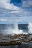 Mapu'A 'A Vaea Blowholes, Tongatapu, Tonga, South Pacific, Pacific Photographic Print by Michael Runkel