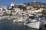 Batsi Harbour, Andros, Cyclades Islands, Greek Islands, Greece, Europe Photographic Print by Rolf Richardson