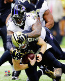 Terrell Suggs 2014 Action Photo