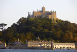 St. Michaels Mount, Cut Off from Marazion at High Tide, Cornwall, England, United Kingdom, Europe Photographic Print by Simon Montgomery